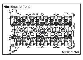 Mitsubishi Outlander. Engine Mechanical